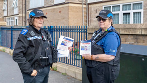 Leaflet appeal as murder investigation continues