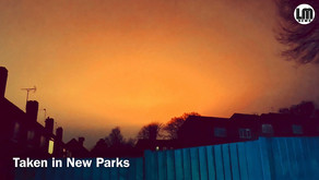 This is why the sky was glowing orange over parts of Leicester