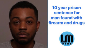 10 year prison sentence for man found with firearm and drugs