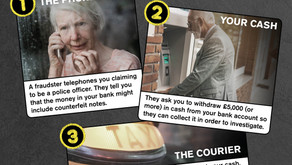 Warning issued after elderly people duped out of large sums of money