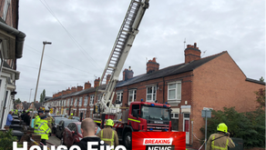House Fire Dunster Street Leicester