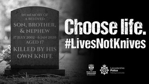 Police launch new Lives Not Knives campaign