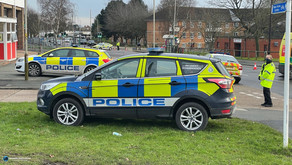 A police officer has been injured in New Parks