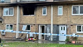 A stabbing followed by Flat Fire on the St Matthews estate