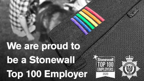 Leicestershire Police Force back in Stonewall Top 100