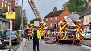 2 people treated for injuries after Flat fire in Mountsorrel.