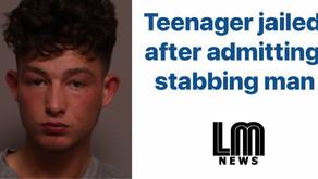 Teenager jailed after admitting stabbing man