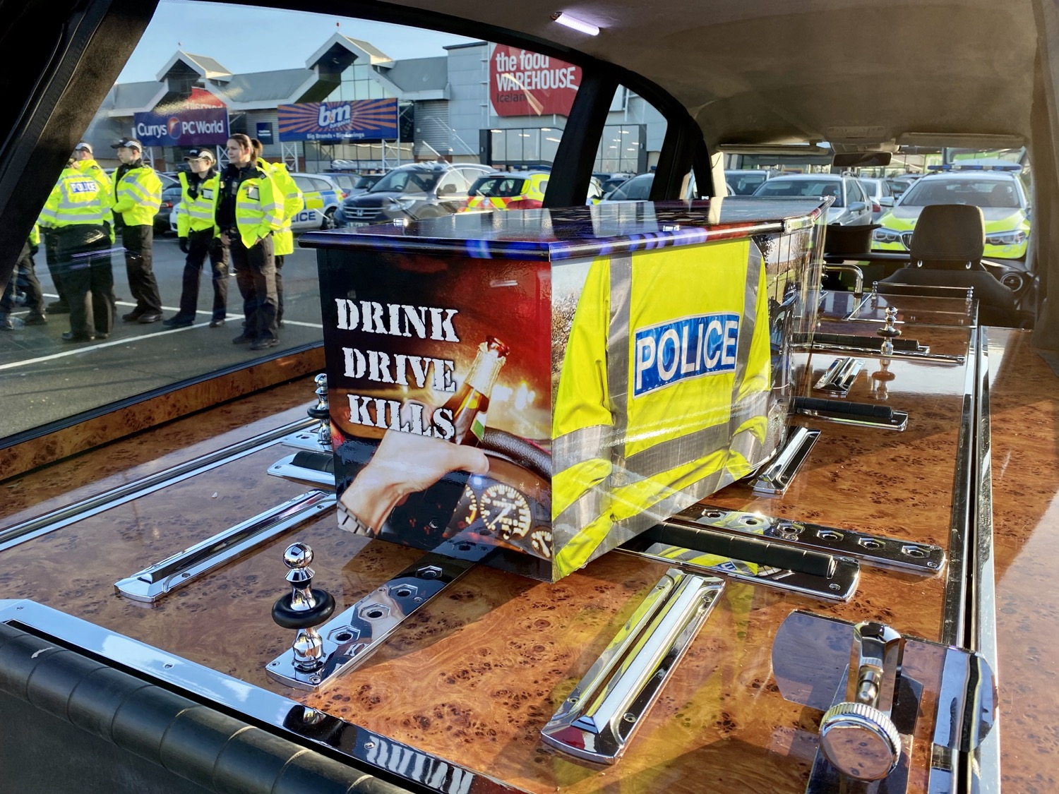 Enjoy New Year's Eve safely. Don't drink and drive
