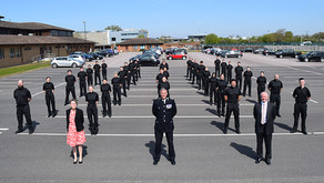 Training continues for new Police recruits