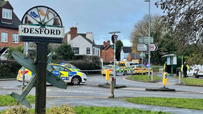 A cyclist who died following a collision with a van in Desford has been named