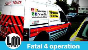 Fatal 4 Police Operation detected 25 offences this morning