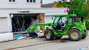 Ensure telehandlers and plant machinery are secured