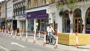 Alterations ahead for pop-up cycle lanes and footway schemes