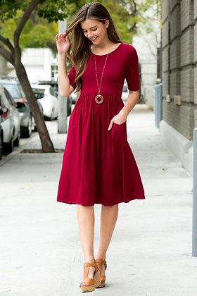 Knee High Pocket Dress