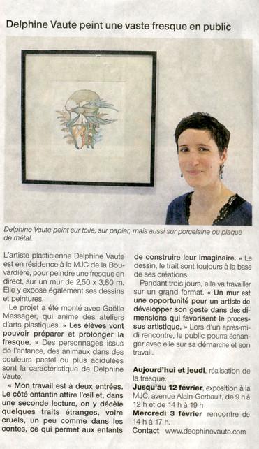 Ouest France 27 Janv. 2016