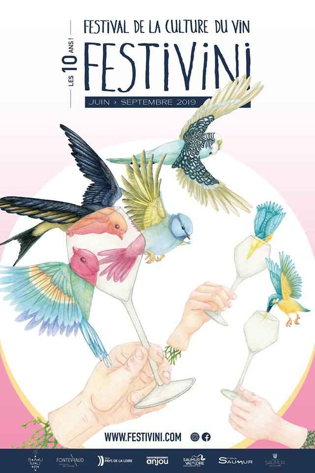 Affiche Festivini 2019