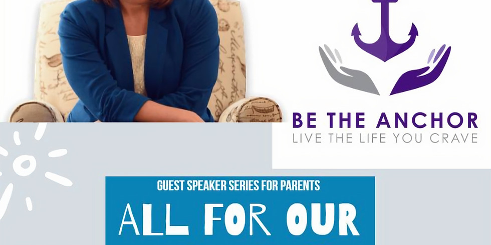 Be the Anchor: Guest Speaker