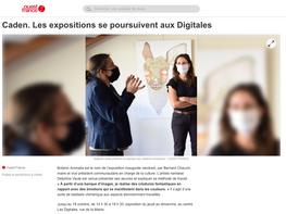 Ouest france 2020-09-08 Caden Les Digitales