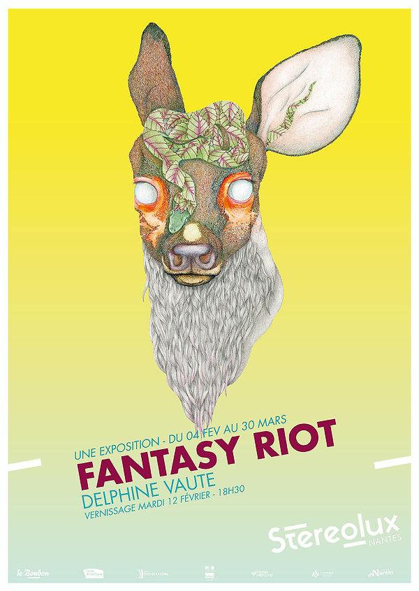 Affiche Fantasy Riot Stereolux delphine_