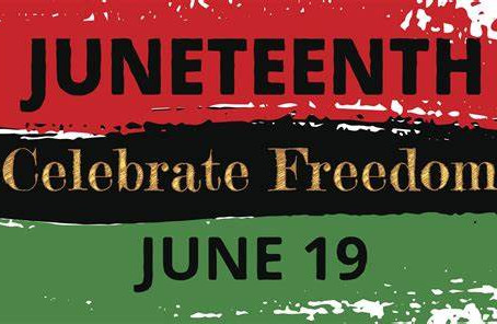 Juneteenth. How we came to realize the real reason we celebrate