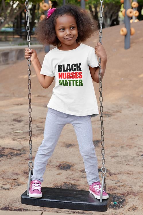 Black Nurses Matter -RBG CHILD TEE