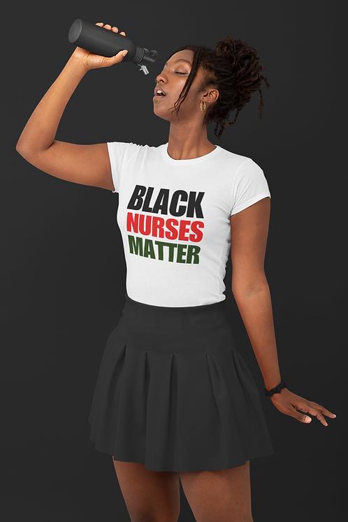 Black Nurses Matter -RBG FITTED TEE