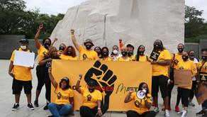 Black Nurses take to the Streets of Washington D.C.