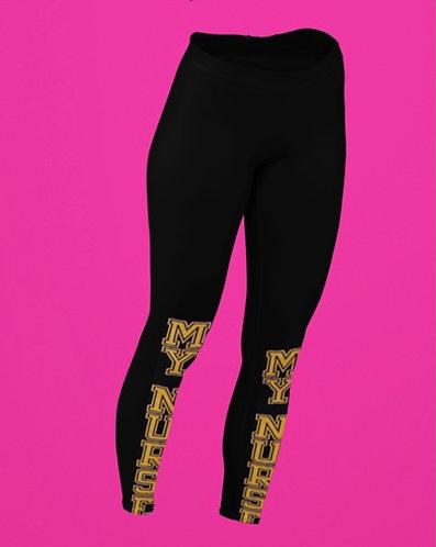 MND Black and Yellow Workout Pant