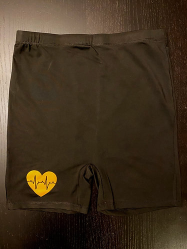 MND HighWaist Black and Yellow