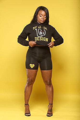 MND HighWaist Black and Yellow