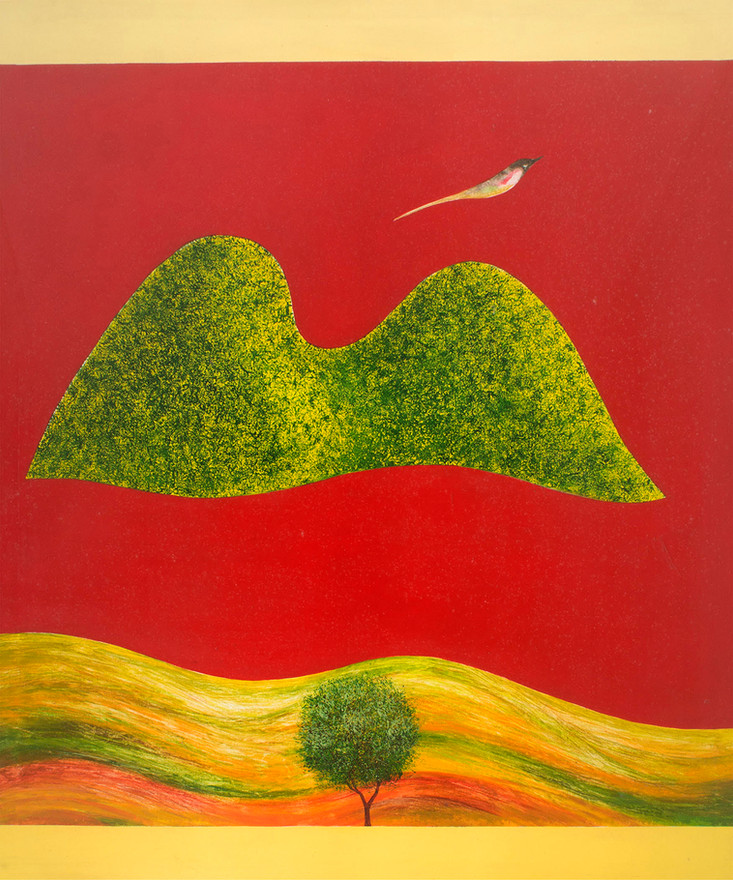 Swminathan_Untitled (Bird Tree and Mount