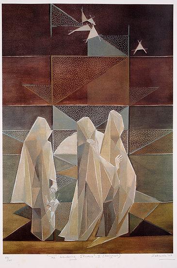 Jehangir Sabavala - The Wandering Shades II