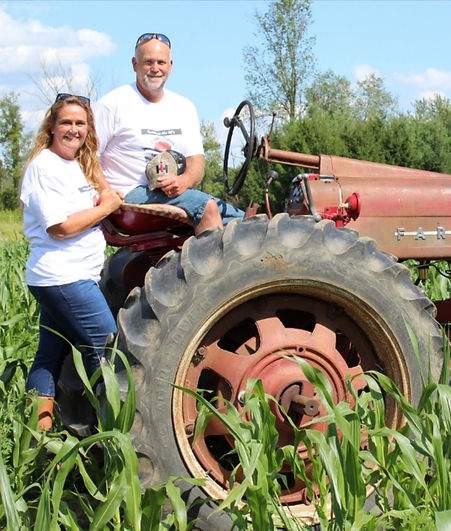 Hank and Tami Tractor.jpg