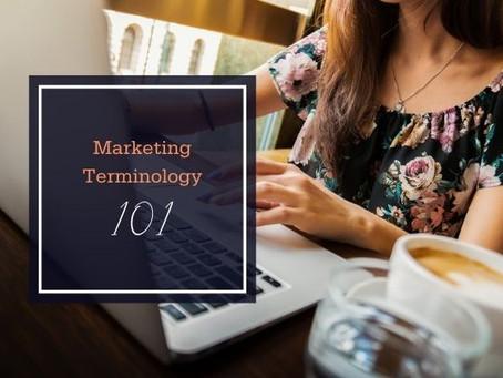 Marking Terminology 101