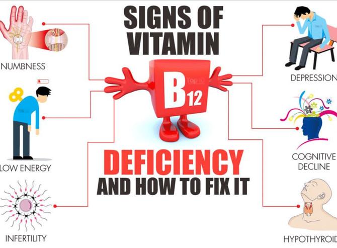 Low B12 Levels = Long-Term Problems!