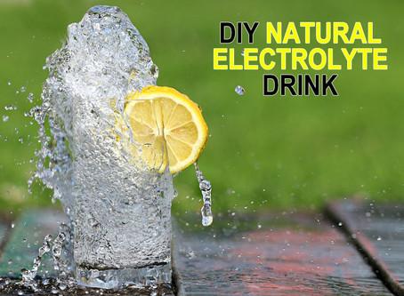 Natural Electrolyte Drink