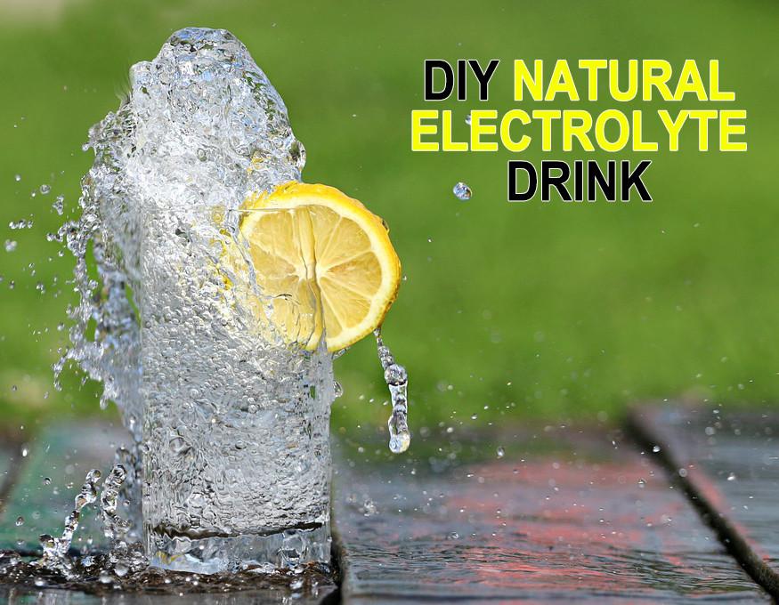 DIY Natural Electrolyte Drink