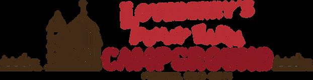Loveberr's Funny Farm Campground Logo