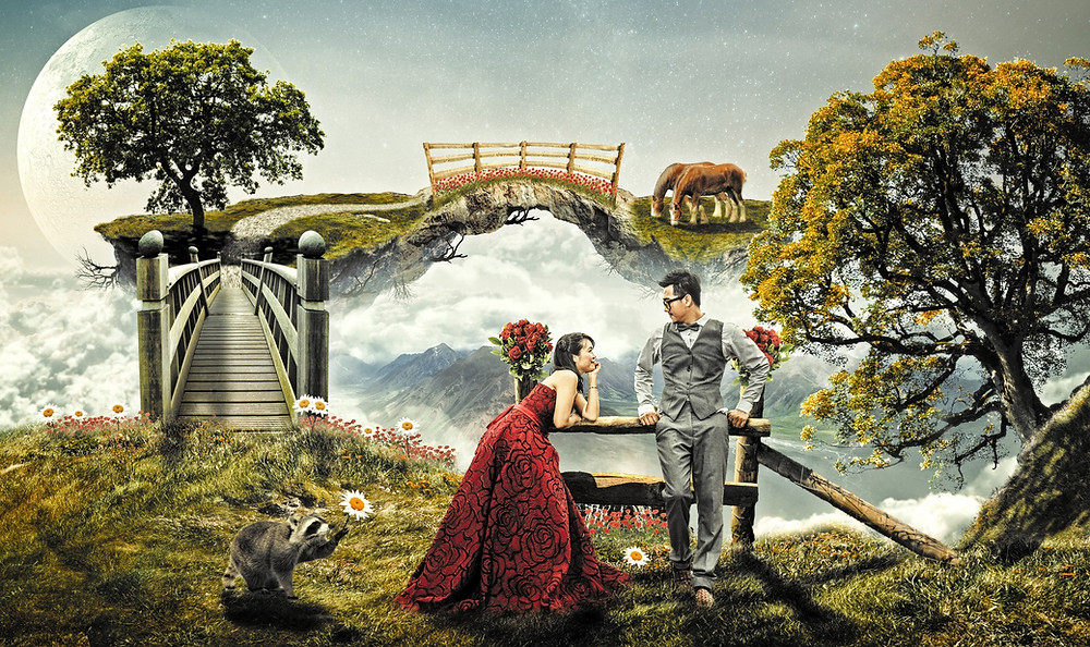 Fantasy Dream Date, Wedding