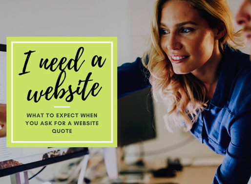 What to expect when you ask a web designer for a quote.
