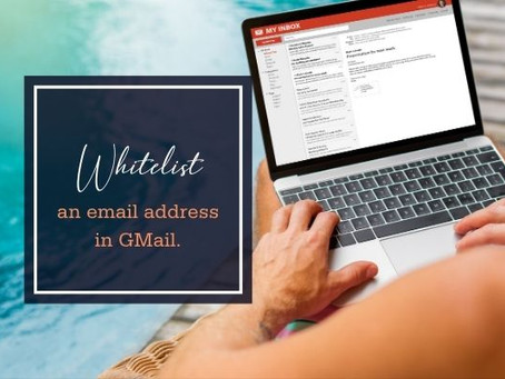Whitelist an Email Address (GMail)