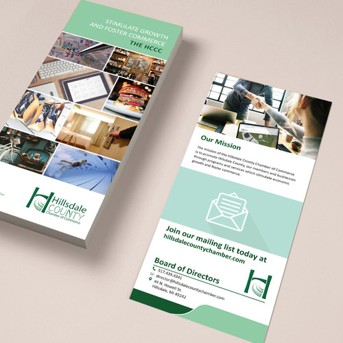 Rack Cards for Hillsdale County Chamber