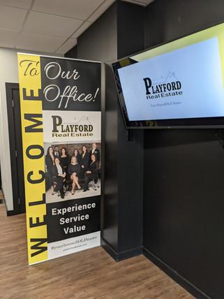 PRE Showroom Banner