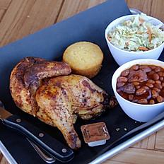 #Smoked 1/2 Chicken