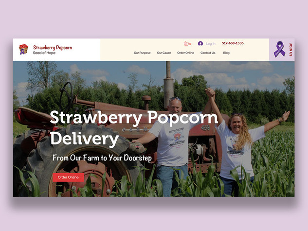 Strawberry Popcorn, Seed of Hope