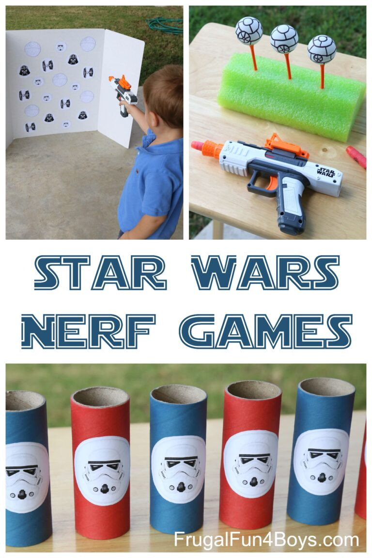 Star Wars targets and nerf guns