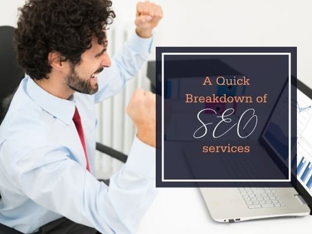 A Quick Breakdown of SEO Services