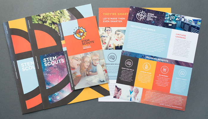 Print collateral branded