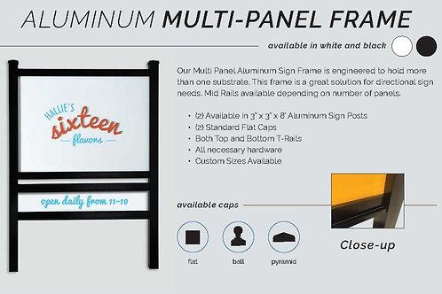Aluminum Multi-Panel Frame