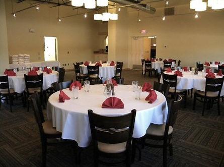 Banquet Area Olivia's Chop House